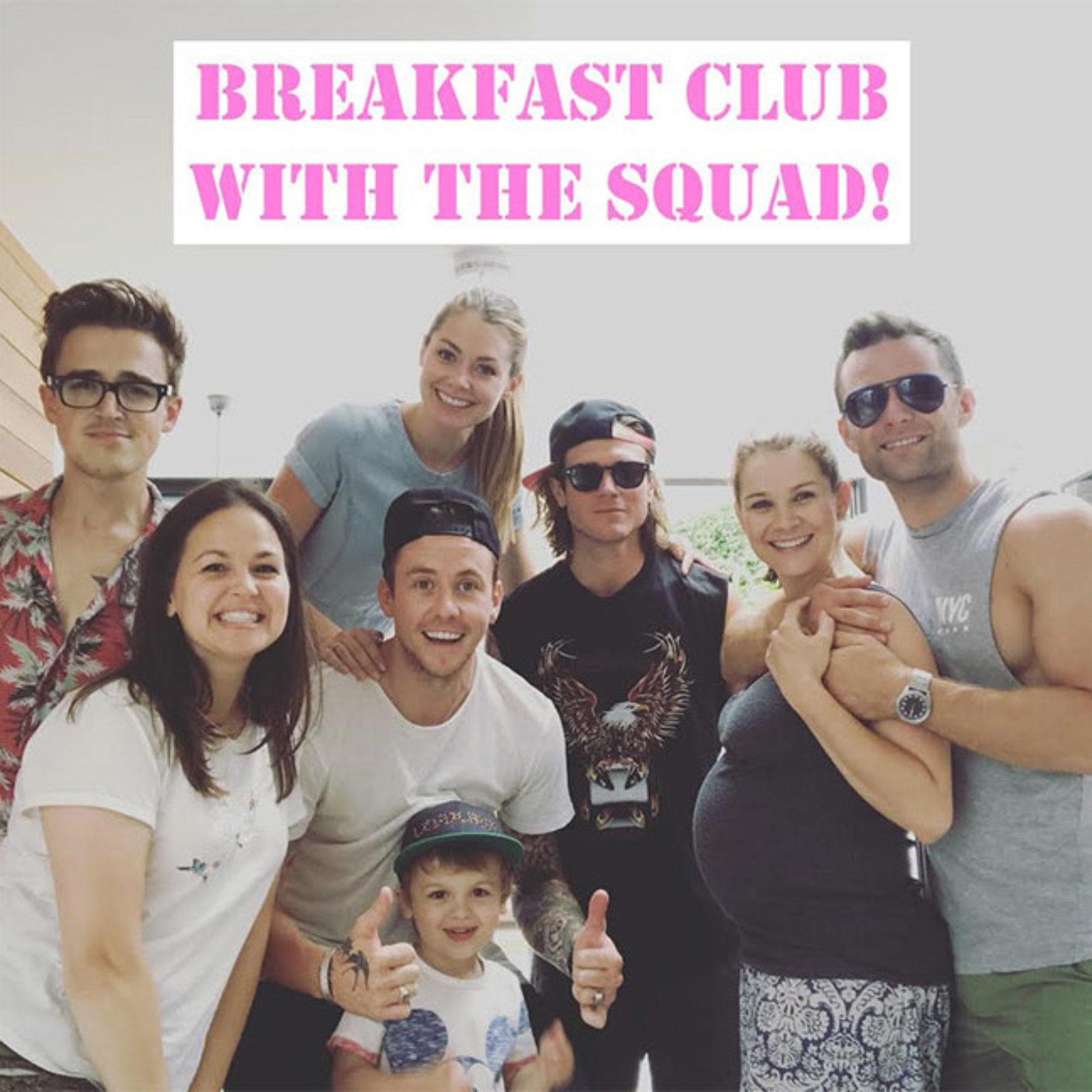 Breakfast club, Wimbledon, and a series of book launches!